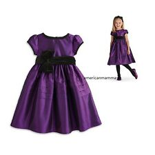 American Girl Clothing Bitty Baby PRETTY IN PURPLE DRESS for Girl 3,4, 6, 6X NEW