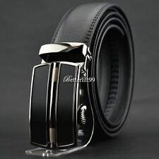 men's fashion business Casual genuine leather belt Luxury Automatic buckle belts