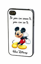 Walt Disney Quote Mickey Mouse if You Dream it You Can Do it Case Cover iPhone