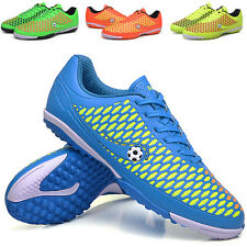 Mens Soccer Cleats Turf Leopard Design Football Boots Shoes Indoor Soccer Shoes