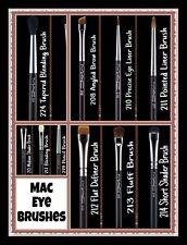 MAC EYE BRUSHES [MUST HAVES] | 100% AUTH. | NEW | USA SELLER | FAST SHIPPING