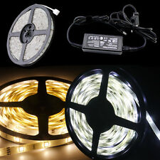 5M 10M 15M 100M 3528 5050 RGB White SMD Light LED Strip 12V LED Strip + 44Key IR