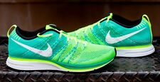 NIKE FLYKNIT TRAINER+ MENS AND WOMENS RUNNINGS SHOES GREEN 532984 713