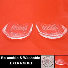 NEW GEL HEEL CUSHIONS Unisex Support Pad Insoles Protectors Footwear Sport Shoes