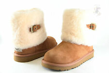 Kids UGG Australia Ellee 1001672 Chestnut Suede 100% Authentic Brand New