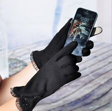 New Fashion Women Winter Warm Easy Click Touch Screen SmartPhone Magic Gloves
