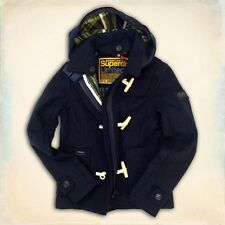 BRAND NEW GENUINE SUPERDRY SUPER CROPPED DUFFLE JACKET. UK SELLER. FAST DISPATCH
