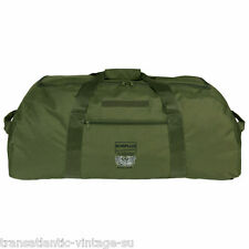 SURPLUS ARMY STYLE BAG 2in1 VERSATILE BACKPACK TRAVEL HIKING CAMPING BLACK OLIVE