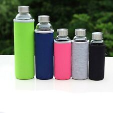 New Shatterproof Glass Water Bottle Eco Friendly Glass Cup Free Shipping 550ml