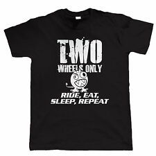 Two Wheels Only Monster Biker T Shirt - Official Two Wheels Only Merchandise