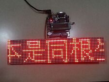64x16 Dot Matrix LED Display DIY Panel for Arduino UNO Neon-Bright! FAST US SHIP