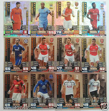 MATCH ATTAX  2014 2015  14 15 HUNDRED CLUB  100 CLUB LIMITED EDITION CARDS
