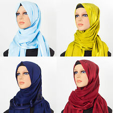 "TURKISH BURSA COTTON SHAWL 25.5""X70"" SCARF/HIJAB/TURBAN/SHAWL/WRAP ISLAMIC"