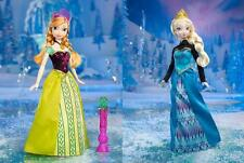 Disney Frozen Queen ELSA Princess ANNA Colour Magic Changing Dress Feature Dolls