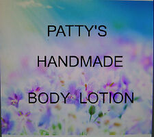 """8OZ JAR HANDMADE BODY LOTION SHIP ANYWHERE MADE WITH BEES WAX """"YOU PICK SCENT"""""""