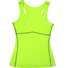 New Women Sports Gym Compression Baselayer Sleeveless Vest Thermal Tops PRO
