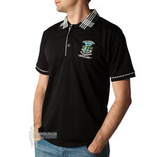 OLD COURSE, SCOTLAND POLO SHIRT - BLACK - SIZES - GREAT FOR GOLF OR GIFT!