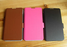 Genuine Real Leather Wallet Flip Phone Case Cover For Huawei Ascend Mate 2 II 4G
