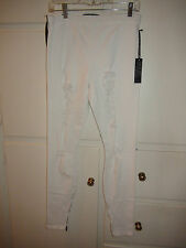 Joes Jeans Destroyed Legging White or Black Denim ICDQ5976 $98NWT XS S M