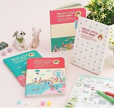 2015 Kawaii Cute Pocket Diary Journal - Hello Little Coco Diary