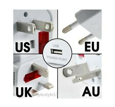 Universal All-In-One World Travel AC Power Plug USB Adapter Convertor Charger