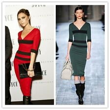 Victoria Beckham Pencil office business dress.celebrity catwalk dress. Saints