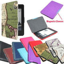 """For Amazon All New Kindle Paperwhite 6"""" Auto Sleep/Wake PU Leather Cover Case"""