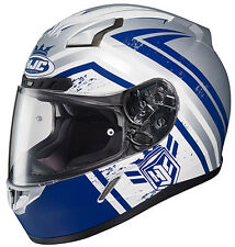 HJC HELMET CL-17 MECH HUNTER BLUE MOTORCYCLE STREET RIDING SNELL FULL FACE 2015