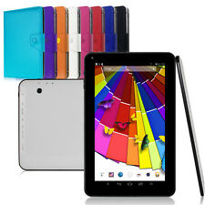 "10.1"" 8GB Quad core Bluetooth Google Android 4.4 Tablet PC W/ Leather Stand Case"