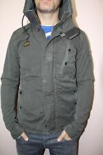 G STAR RAW New Recolite Storm Hooded jacket, battle gray, NEW with tags