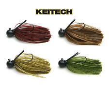 KEITECH TUNGSTEN GUARD SPIN JIG 1/8 OZ. various colors