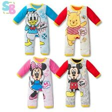 BABY BOYS COTTON MICKEY DONALD BIRTHDAY COSTUME OUTFITS SETS 6-9-12-18-2