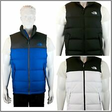 [2014-2015] The North Face Men's Nuptse Vest Goose Down Black Black/White/Blue