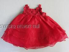 NEW Toddler Baby Girls 2 pc Dress Bloomers Set SZ: 12,24 Mo RARE EDITIONS