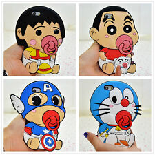 3D Cute Cartoon Baby Nipple Silicone Soft Shockproof Cover Case For iphone 5 5s