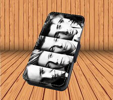 One Direction For Faux Leather Flip iPhone & Samsung Galaxy Cover Case PT22