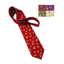 Game Birds Silk Tie BRAND NEW MORE COLOURS Hunting Shooting