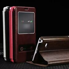 New PU Leather Flip Stand Case Cover For Samsung Galaxy Note4 IV N9100