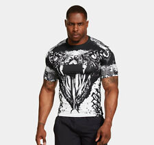Under Armour Men's Alter Ego BEAST MODE White Snake Compression Shirt - NEW