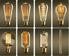 Vintage Style Retro Filament Edison Lamp Light Bulb E27 220V 110V