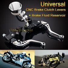 Hot-sale CNC Brake Clutch Levers Fluid Reservoir Aluminum Fit For Triumph New