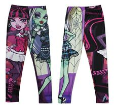 Girls Monster High Draculaura and Frankie Stein Pants Tights 3-8Y #P023 1PCS