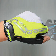 Yellow Practical Professional Cycling Bike Bicycle Half Finger Glove S/M/L/XL