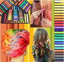 6/12/24/36 colours Temporary color Hair DYE Soft Pastels Chalk Salon Non-Toxic