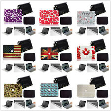 Anti-scratch Rubberized Hard Case Bag cover For New Macbook Pro 13 15 2008-2014