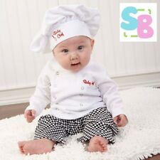 NEW INFANT BABY TODDLER BOYS CHEF COOK FANCY DRESS UP COSTUME PARTY OUTFITS SETS