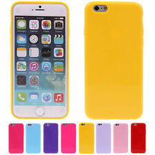 "Candy Plain Color TPU Hard Protective Skin Case Cover For Apple 4.7"" iPhone 6"