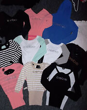 ***CHOOSE ONE*** gorgeous BEBE logo sweater top NWT