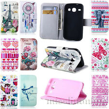 MECOO / For Samsung Galaxy Core Duos i8262 Card Clip Wallet Leather Case Cover