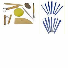 RANGE OF POTTERY TOOLS FOR CLAY MODELLING SCULPTING DAS FIMO